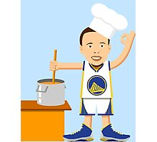 Chef Curry Widda Pot Boi! Photographic Print