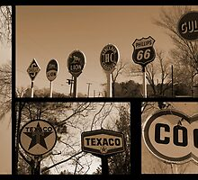 Oil Sign Retirement by Betty Northcutt