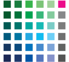 Choose Wisely (the Photoshop Palette) Sticker