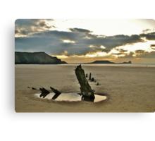 Rhossili Bay, Gower at Dusk Canvas Print