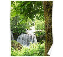 waterfall at Rastoke in Croatia Poster