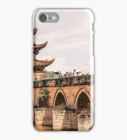 Double Dragon Bridge iPhone Case/Skin