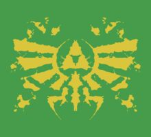 Hyrule Rorschach (gold) One Piece - Short Sleeve
