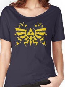Hyrule Rorschach (gold) Women's Relaxed Fit T-Shirt