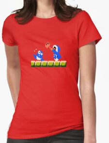 Ice Climber Hit Womens Fitted T-Shirt