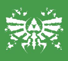 Hyrule Rorschach (white) Kids Clothes
