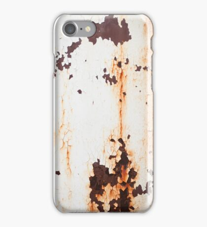 Old Paint Rusty Metal iPhone Case/Skin