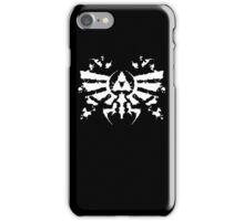 Hyrule Rorschach (white) iPhone Case/Skin