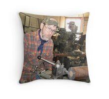 Machinist Throw Pillow