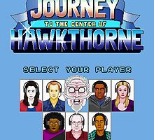 Select Your Player to Journey to the Center of Hawkthorne! by oncenfuturekiki