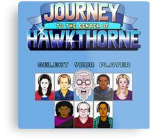 Select Your Player to Journey to the Center of Hawkthorne! Metal Print