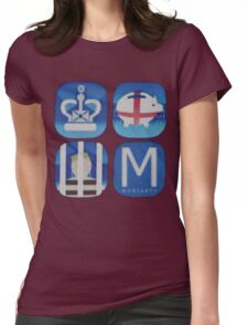 Moriarty. Womens Fitted T-Shirt