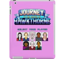 Select Your Player to Journey to the Center of Hawkthorne! iPad Case/Skin