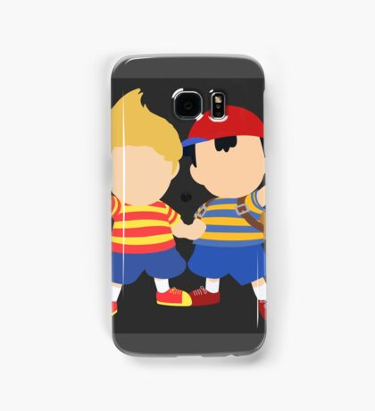Ness & Lucas (Black) - Super Smash Bros. [Requested] Samsung Galaxy Case/Skin