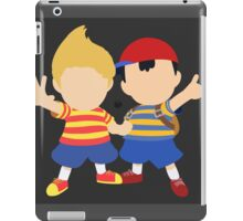 Ness & Lucas (Black) - Super Smash Bros. [Requested] iPad Case/Skin