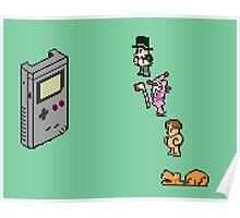 Board Games vs Gameboy Poster