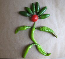Playing With Vegetables : by Marianne C. Wille