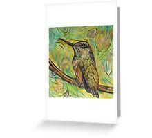 Smart Hummer Greeting Card