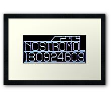 Commercial Towing Vehicle 'The Nostromo' Framed Print