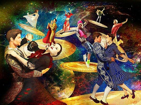 Cosmic Choreography by Nadya Johnson