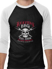 Reaver's BBQ - It'll will cost you an arm and a leg. Men's Baseball ¾ T-Shirt