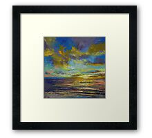 Sunset Key Largo Framed Print
