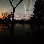 Comet Reflections 2 by Wayne England