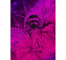 Flying Bumble Photographic Print