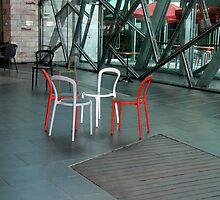 Random seating plan by Maggie Hegarty