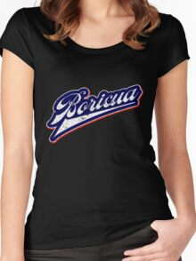 Boricua Swash Women's Fitted Scoop T-Shirt