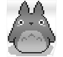 Totoro Pixelated Poster