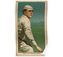 Benjamin K Edwards Collection Eddie Cicotte Boston Red Sox baseball card portrait Poster