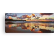 Reflections - Frazer Beach Sunrise Canvas Print