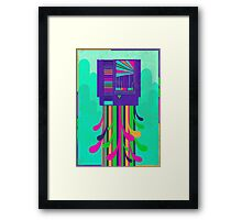 """""""Blow.me with your sad.boring cynicism"""" Framed Print"""
