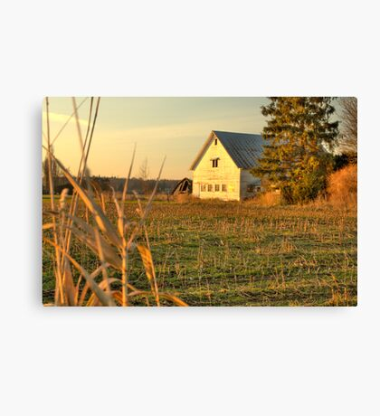 Golden Milk Parlor Canvas Print