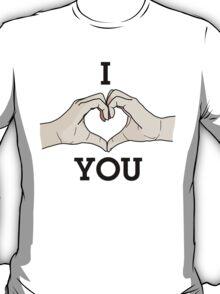 I Heart Hands You T-Shirt
