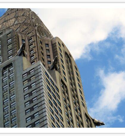 Chrysler Building Sticker