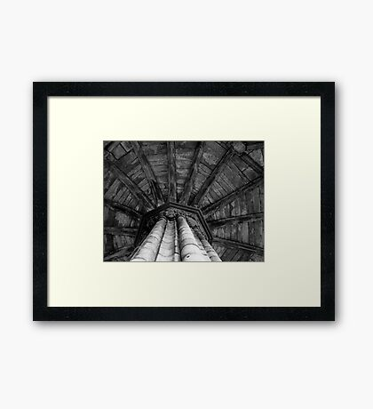 The Octagonal Chapter House  Framed Print