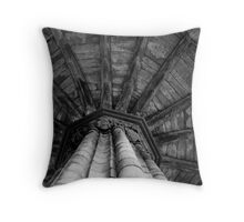 The Octagonal Chapter House  Throw Pillow