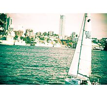 We smoothly sailed the life... Photographic Print