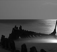 Wreck in Moonlight by Nick Milton