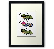 in the army - part2 Framed Print