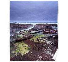 """Red Earth"" ∞ Haycock Point, NSW - Australia Poster"
