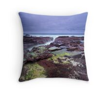 """Red Earth"" ∞ Haycock Point, NSW - Australia Throw Pillow"