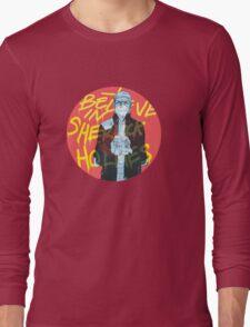I Believe In Sherlock Long Sleeve T-Shirt