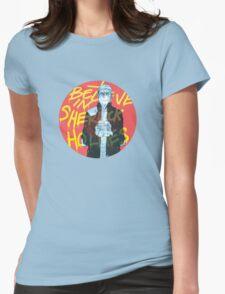 I Believe In Sherlock Womens Fitted T-Shirt