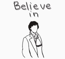 Believe in Sherlock 2 Kids Tee