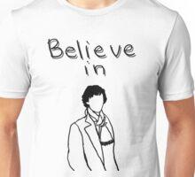 Believe in Sherlock 2 Unisex T-Shirt