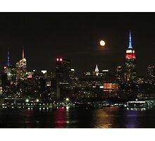 New York Skylines Photographic Print