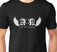 AOA Logo White Unisex T-Shirt